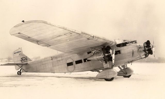ford trimotor 5at nc428h