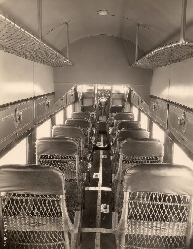 ford trimotor 5at cabin interior