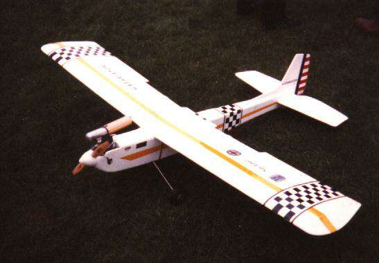 sterling models gazariator radio controlled model aircraft