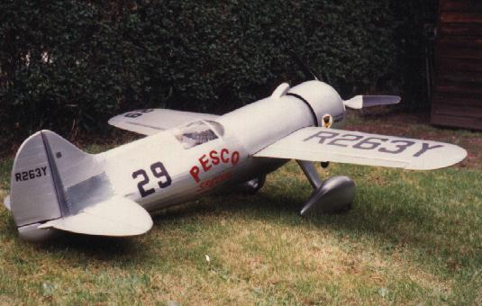 laird turner ltr14 pesco special large scale flying scale model aircraft