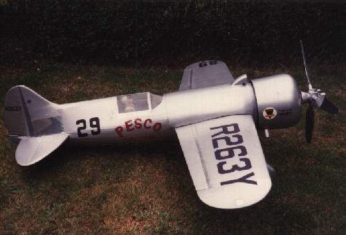 laird turner ltr14 pesco special large scale flying scale model racing aeroplane