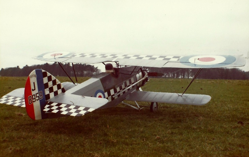 armstrong whitworth siskin flying scale model aircraft