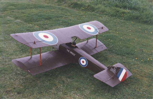 db models sopwith pup flying scale model aircraft