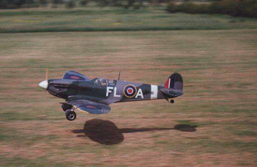 db models supermarine spitfire flying scale model aircraft