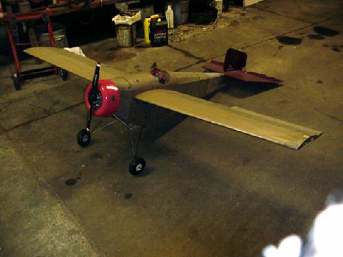 1911 caudron racing monoplane flying scale model aircraft