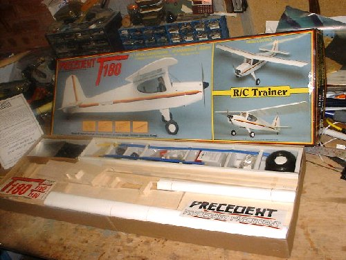 precedent t180 flying model aircraft
