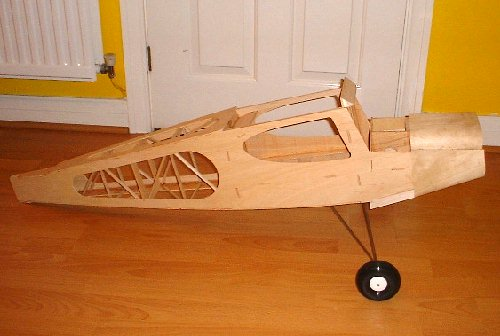 precedent t180 radio controlled model aircraft