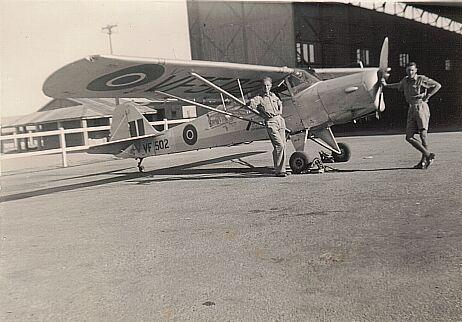 auster aop vf502 in service